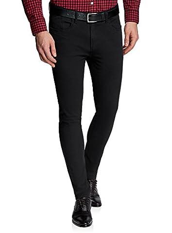 Rencontre D Un Tres Sale Type - oodji Ultra Homme Pantalon Basique en Coton,