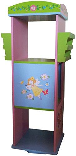 LibertyHouseToys Fairy drehbarer Bücherregal (Fairy Mann Kostüm)