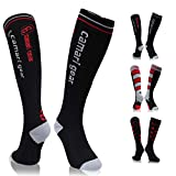 Camari Gear Sport Kompressionsstrümpfe/Kompressionssocken/Compression Socks/Laufsocken/Thrombosestrümpfe/Strümpfe Kompression für Damen Herren, Flug, Reisen, medi, Schwangerschaft & Medizinisch