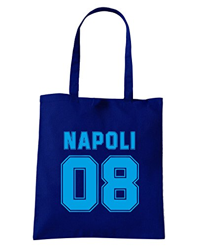 T-Shirtshock - Borsa Shopping OLDENG00346 napoli 08 Blu Navy