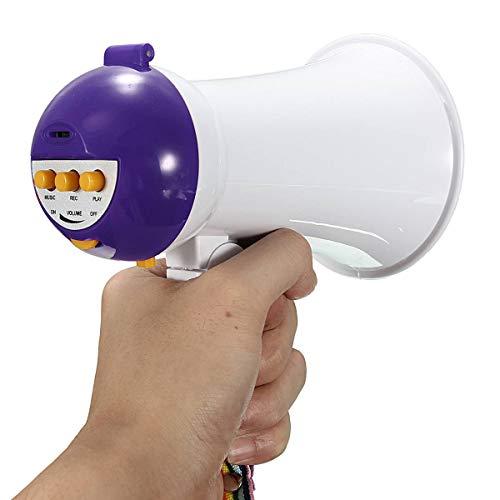 are Handheld Megaphon Lautsprecher Verstärker Recorder Bullhornlila ()