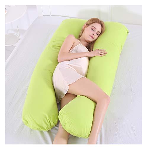 YLET Anpassung Gürtel Körper Schwangerschaft Kissen Mutterschaft Kissen Unterstützung für die hinteren Hüften Beine Bauch abnehmbare Körper Kissen kommt mit waschbarem Baumwollbezug,10-OneSize -
