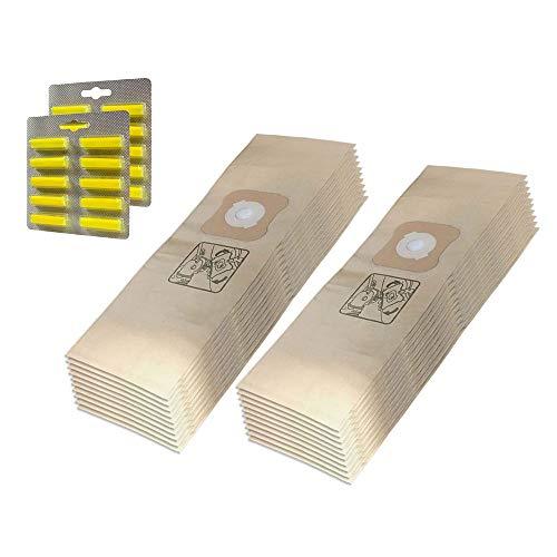 20 Staubsaugerbeutel + Duftstäbchen Für Kirby Generation 6 Ultimate G Micron Magic HEPA Filtration -
