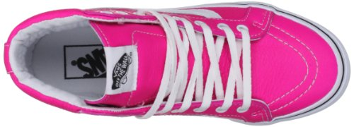 Vans U SK8-HI SLIM (NEON LEATHER) VQG37MO, Unisex-Erwachsene Sneaker Pink ((Neon Leather))