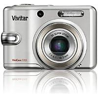 "Vivitar ViviCam 5355 Digitalkamera - Silber (5.0MP, 3x optischer Zoom) 2.4 ""LCD"