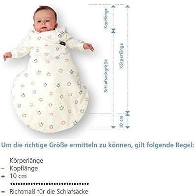 Gesslein Bubou Dessin 146 - Saco de dormir infantil con mangas, diseño de cochecitos