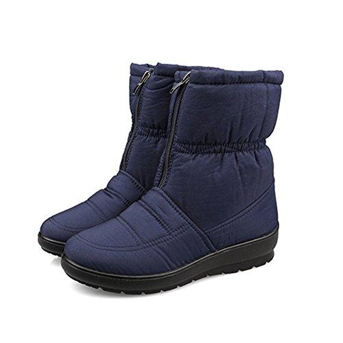 Fortuning's JDS Inverno delle signore impermeabile antiscivolo Peloso Velluto stivali