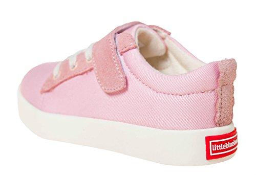 Azuis Lona Rosa Sapatos E Cordeiro Sapatilha Baixos Couro Sapatos Rosa 7120 Pequenos OxwW0zqdtO