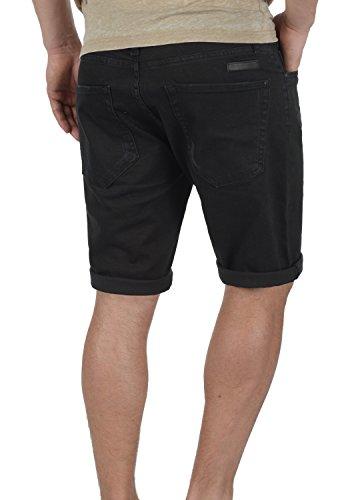 REDEFINED REBEL Monfire Herren Jeans-Shorts kurze Hose Denim aus hochwertiger Baumwollmischung Black