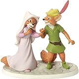 Precious Moments 164701Ich liebe sie mehr als Leben selbst Bisque Porzellan Figur Disney Showcase Collection, multicolor