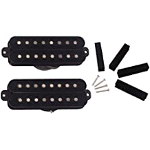 Gazechimp 1 Set Pickup con 4pcs Cojín de Espuma 4 Piezas Tornillos Pieza Útil de Guitarra Humbucker