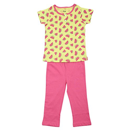 Watermelon AOP Print Girl's Night Wear Set (3-4 Years)