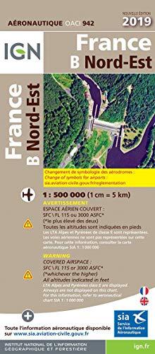 France Nord-Est : 1/500 000 par  (Carte - Mar 21, 2019)