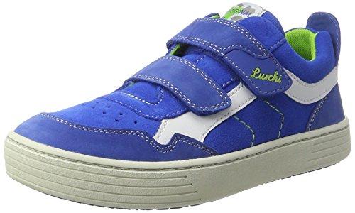 Lurchi Hanno, chaussons d'intérieur garçon Bleu roi