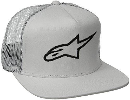 alpinestars-corp-trucker-casquette-de-baseball-homme-blanc-bianco-white-taille-onesize