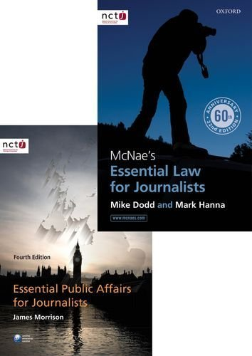 McNae's Essential Law for Journalists and Essential Public Affairs for Journalists Pack by Mark Hanna (2015-05-28)