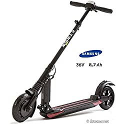 E-Twow, 1019, Booster Samsung 8.7Ah Patinete, Negro, Talla Única