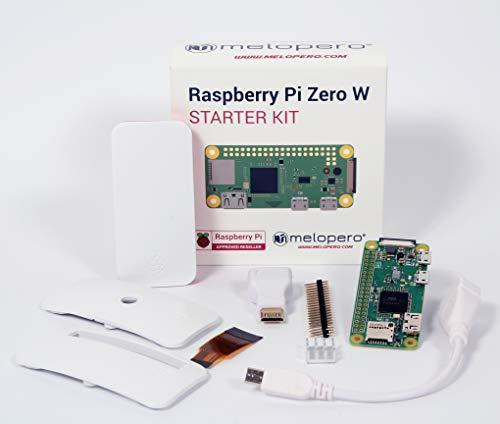 Melopero Raspberry Pi Zero W Starter Set (Pi Cam Pi Raspberry)