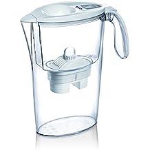 Laica Stream L Bi-Flux - Jarra con filtro, plástico, 2.25 l, color blanco
