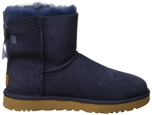 UGG Australia  Mini Bailey Bow, baskets montantes femme Bleu (Navy)