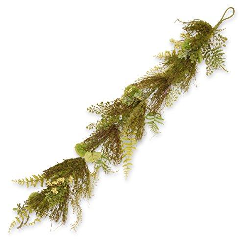 National Tree Company 45in. Garden Akzente Farn und Lavendel Girlande 45