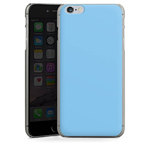 Apple iPhone X Silikon Hülle Case Schutzhülle Eisblau Blau Blue Hard Case anthrazit-klar