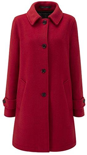 Original Montgomery Paddock Coat Damen, Größe 42, Rot