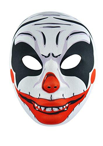 Halloween Party Kleid bis Spielzeug Erwachsene Hexe Hat Schwarz Trick or Treat Kostüm–Hexe Hat–von Guilty Gadgets, Scary Clown Face (Clown Kostüme Kit)
