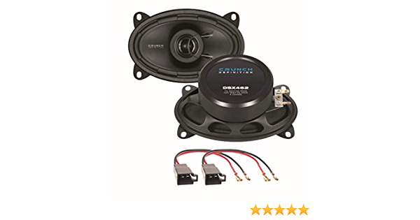Crunch Dsx462 2 Wege Koaxial Lautsprechersystem Elektronik