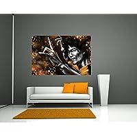 """Bilderdepot24 Fotomural """"Bruce Lee amarilla"""" 90x60 cm - Papel tejido-no tejido. Fotomurales - Papel pintado - la fabricación made in Germany!"""