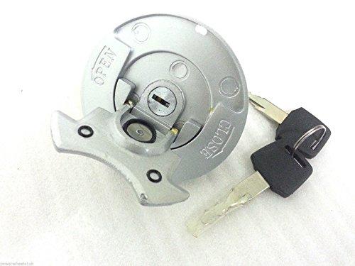 Metall Benzin Tankdeckel & Schlüssel für Bashan bs200s-7/bs250s-11b 200cc Quad Bike