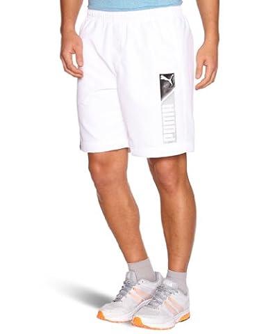 Puma Logo Foundation Bermuda homme Blanc S