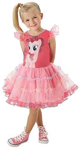 Mädchen Offiziell Lizenziert My Little Pony Buch Tag Woche Verkleidung Kleid Kostüm Outfit - Rosa, 110-116 (Ländern Auf Der Ganzen Welt Kostüme)