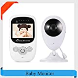 Best 2 Camera Video Monitors - LifetSmart Baby Monitor, 2.4 Inch TFT LCD Screen Review
