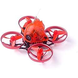 Ballylelly Drone RC Happymodel Snapper6 65mm Micro 1S FPV sin escobillas Drone RC con F3 OSD 5A ESC BNF Frsky Receptor Tres Edición de Electricidad