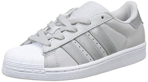separation shoes 6ba3b 9a59d adidas Originals Superstar, Zapatillas Unisex Niños, Gris (Lgh Solid  Grey Silver Met