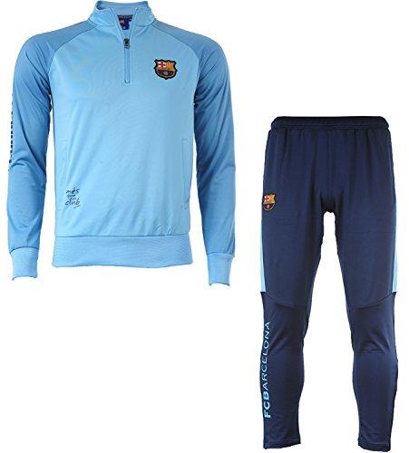 3fba95cd2e Fc Barcelone Survêtement Barça : veste + pantalon - Collection officielle Taille  enfant garçon 8 ans