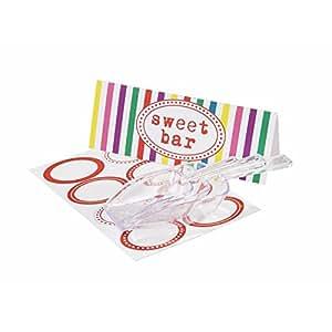 Multicolore-Set pelle à bonbons Candy Bar
