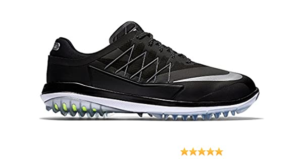 best sneakers a2969 fee96 Nike 849971-002 Scarpe da Golf, Uomo, Nero (Black/Black/Mtlc Dark  Grey/White), 49 1/2: Amazon.it: Scarpe e borse