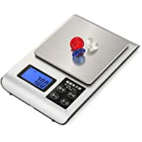 DPPAN Digital Electrónica Báscula de Cocina, Mini multifunción Balanza de Alimentos Peso de Cocina,
