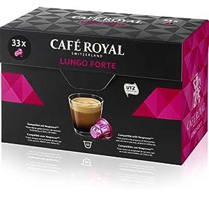 Café Royal Lungo Forte Box per Nespresso - Confezione da 33 Capsule