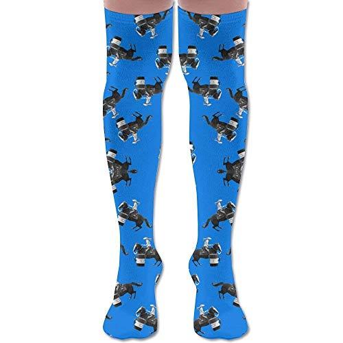 Männer Kostüm Racing - Gped Kniestrümpfe,Socken Barrel Racing Turn Knee High Graduated Compression Socks For Women And Men - Best Medical, Nursing, Travel & Flight Socks - Running & Fitness Length 50CM