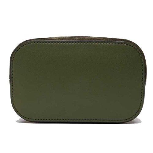 Donna Sacchetto A Catena Borsa A Tracolla Pacchetto Diagonale Colore Solido Scrub Borsa Green