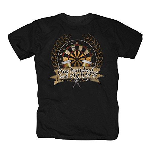 Dart T-Shirt, schwarz, X-Large (T-shirts Darts)