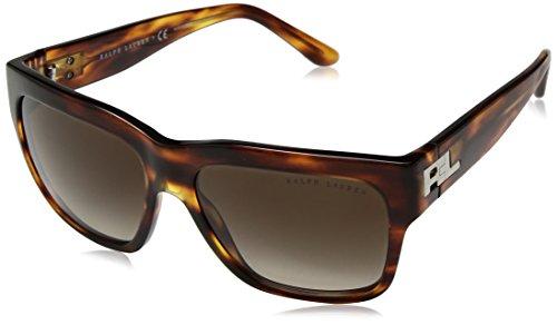 Ralph Lauren Damen 0Rl8154 500713 56 Sonnenbrille, Braun (Striped Havana/Gradient Brown),