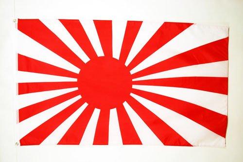 AZ FLAG Bandera del JAPÓN WWI DE Guerra 150x90cm - Bandera Japonesa Imperial 90 x 150 cm