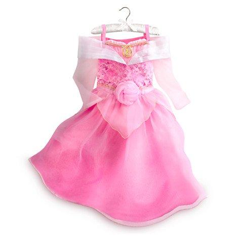 (Authentische Disney Store - Dornröschen Aurora Kostüm-Abendkleid für Mädchen - Größe 11-12 Jahren)