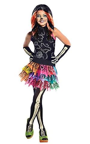 Skelita Filles Costume - Déguisement Skelita Calaveras Monster High? fille -