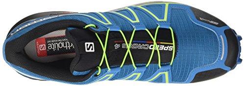 Salomon Herren Speedcross 4 CS Kletterschuhe Mehrfarbig (Mykonos Bl/hawaiian/lime)