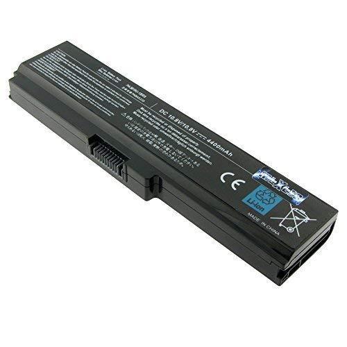 MTXtec Akku, LiIon, 10.8V, 4400mAh, schwarz für Toshiba Satellite P775-10W (Toshiba P775 Satellite Laptop)